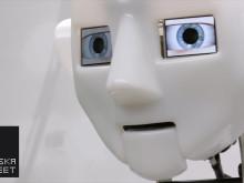 Robots från Science museum gör världsturnéstart på Tekniska museet. Foto: Science Museum