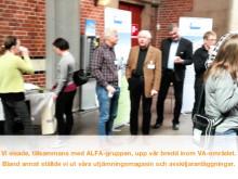 Svenskt Vatten Rörnät & Klimat 1-2 april 2014 på Slagthuset konferens, Malmö