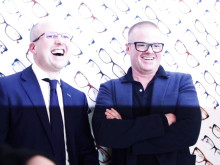 Heston Blumenthal Glasses Launch at Vision Express Oxford Street