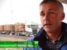 Holmen Skog valde tåg med Green Cargo trots korta transportavstånd
