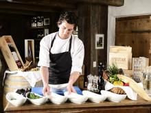 Rezept aus dem DolceVita Hotel Preidlhof: Eisacktaler Saibling mit Sommergurke & Limette im Preidlhof