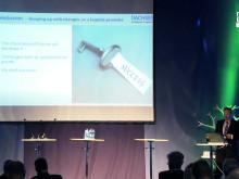 Tisdag 22 maj på Logistik och Transportmässan 2012 - Finn Skovbo Pedersen