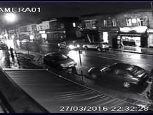 CCTV footage of fail-to-stop