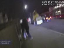 Body-worn footage of fire in Harrow