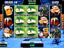 Santa's Wild Ride Slot Game at LuckyWinSlots.com