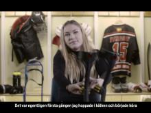 #hockeyärhockey – Caroline Persson är en av ytterst få kvinnliga spelare inom svensk parahockey