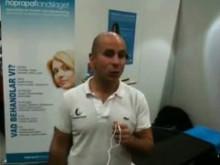 Naprapatlandslaget på Hälsomässan - Video