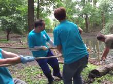 Helfende Hände Aktion 2017: Wildpark Rheingönheim - Teil 2