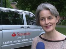 Santander spendet Bus für die Landesjugendensembles NRW