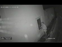 CCTV footage of Bromley burglary