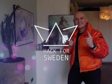 Oscar Mörke och Elsa Landberg - our moderators 2019