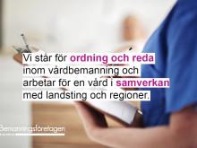 Personal inom vårdbemanning trivs på jobbet