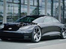 Hyundai Prophecy Concept EV driving clip