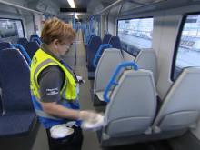 Trains - Powerful viruscide kills Coronavirus on GTR trains for up to 30 days