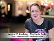 Vinnare årets pressrum 2009 - Stockholm Pride