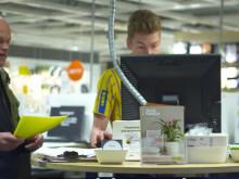 IKEA berättar om den tillfälliga köksbutiken i Mood-kvarteret i Stockholm city