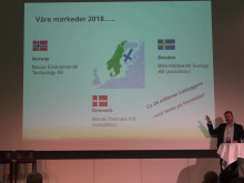 Biovac Kick Off 2018, Innledning ved Petter Mellquist, CEO