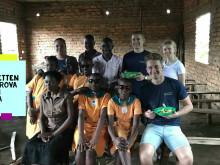 Lyckad volontärresa till Uganda för TBS-eleverna