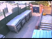 CCTV of the moped police believe to be involved in the shooting