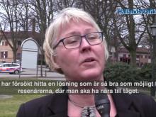 Varbergs bussterminal flyttas den 1 oktober