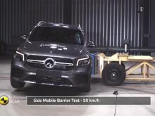 Mercedes-Benz GLB Euro NCAP testing November 2019