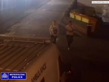 CCTV footage taken from St Helier Hospital