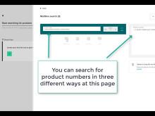 Satair Market - Multi line search