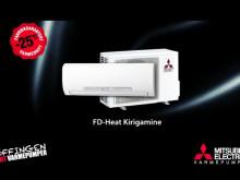 FD-Heat Kirigamine - toppmodell varmepumpe