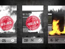 Se filmen som visar varför brandskåp enligt SS-EN 14470 bör användas för brandfarlig vara.