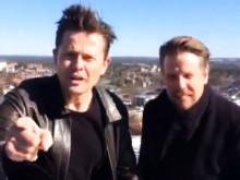 Filip & Fredrik uppe på Globens Tak bjuder in till bästa podcastfesten och ger fans och lyssnare det grymmaste påskerbjudandet