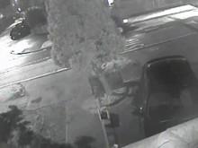 CCTV of van