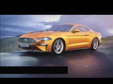 Nya Ford Mustang med MagneRide-teknik