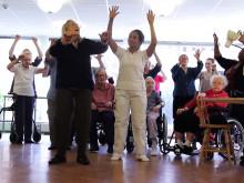 Projektet Seniorkultur - Kultur i vården Stockholms läns landsting