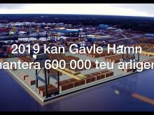 Teaser Ostkustens största containerhamn