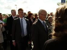 Kungaparets besök i Sölvesborg