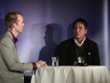 Mattias Lundberg intervjuar Martin Grann på Psykologisk Salong 6 dec 2012. #psykologi #umu #umeå