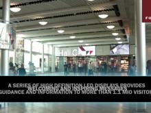 Nya LED-displayer på Stockholmsmässan
