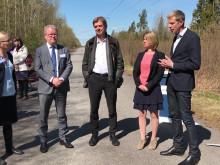 Film från Northvolts besök i Västerås