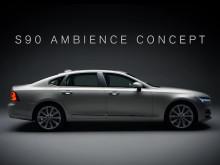 Volvo S90 Ambience Concept presentation