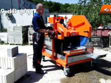 Ny lyddæmpende klinge til blokstensave. Video