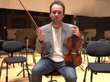 Waltons Violinkonsert/ Alexander Kagan/ Norrlandsoperans Symfoniorkester