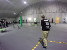 SM i Multikopter 2015 - testflygning av banan