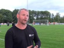 Hybridgräs Kristianstad - Daniel Perkmar och Andreas Jakobsson