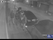 CCTV footage of four males police wish to identify