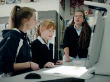 Sprout Pro by HP  i bruk til animasjonsprosjekt på skolen