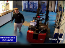 CCTV footage showing second suspect
