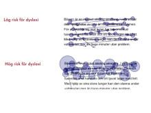 Optolexia ögonrörelseinspelningar för att upptäcka dyslexi