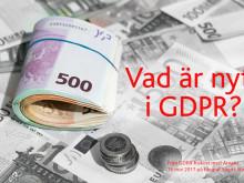 Vad är nytt i GDPR?