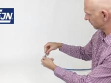 Använd CEJNs rostfria adaptrar för att öka livslängden på din slangsats.