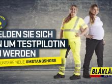 Blåkläder Arbeits-Umstandshose - Testpilotonnen gesucht